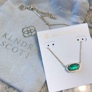 New- Kendra Scott Elisa gold necklace